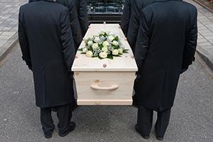 Begravelses fotograf